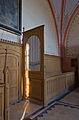 Kambs Kirche abgebaute Reste des alten Orgelprospekts.jpg