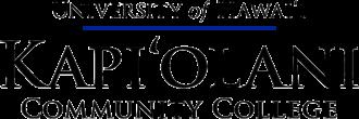 Kapiolani Community College - Image: Kapi'olani CC logo