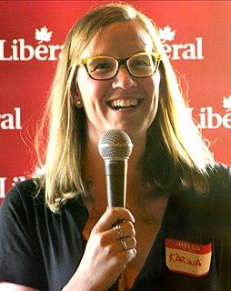 Karina Gould Canadian Liberal politician