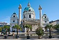 Karlskirche Vienna Front.jpg