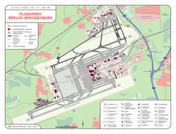 מפת שדה התעופה
