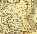 Karte aus dem Buch Römische Provinzen von Theodor Mommsen 1921 16f.png