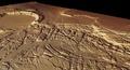 Kasei Valles and Sacra Fossae, in perspective ESA236997.tiff