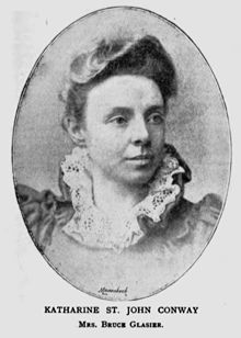 picture of Katherine Bruce Glasier from around 1895