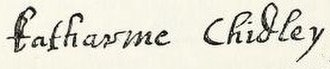 Katherine Chidley - Image: Katherine Chidley signature