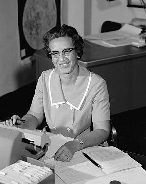 Katherine Johnson - Johnson at NASA in 1966