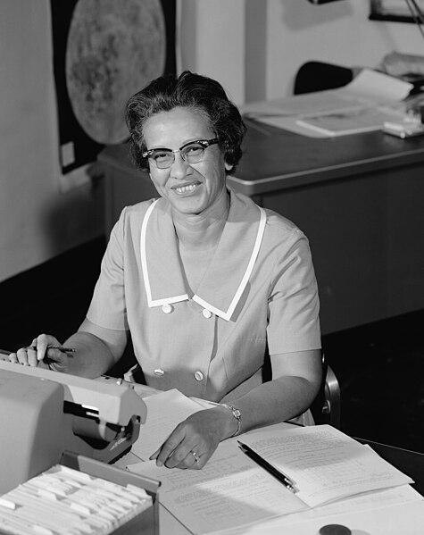 File:Katherine Johnson at NASA, in 1966.jpg