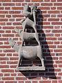 Katwijk (Cuijk, N-Br) sculptuur de Bremer stadsmuzikanten, Gerard Bruning.JPG
