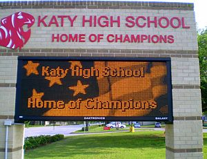 Katy High School - Image: Katy High School