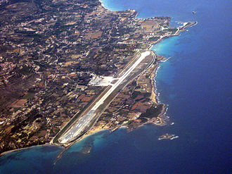 Kephalonia International Airport - Image: Kefalonia airport 02