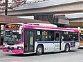 Keio Bus Minami J21214 at Tama-Center Station.jpg