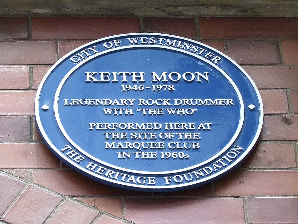 Keith moon at marquee