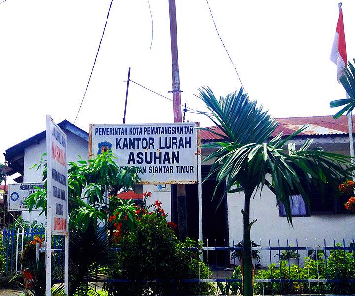File:Kel. Asuhan, Kecamatan Siantar Timur, Pematangsiantar.JPG
