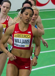Kendell Williams American athletics competitor