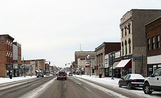 Keokuk, Iowa - Main Street (January 2009)
