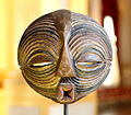 Kifwebe mask - Luba - RDC - Royal Palace, Brussels.JPG