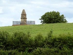 Athelney Abbey - Image: King Alfreds Monument