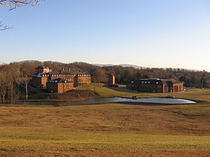 King University - View of the King University campus from a nearby road