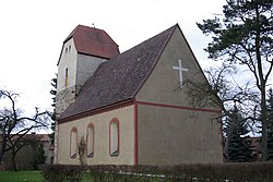 The church in Prenzdorf, Dahmetal