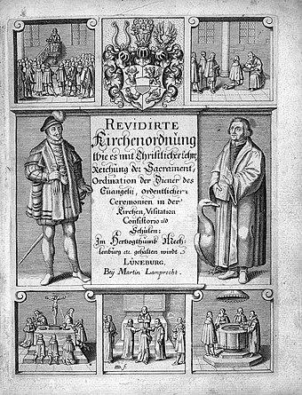 Church orders, Mecklenburg 1650