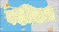 Kirklareli-Provinces of Turkey-Urdu.png