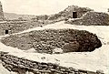Kiva in ruin AT Aztec Ruins National Monument, showing cobblestone repair work, indicates that ruin was later occupied by Mesa (957296f446bd4bd0b11e6d8e2f3d62cc).jpg