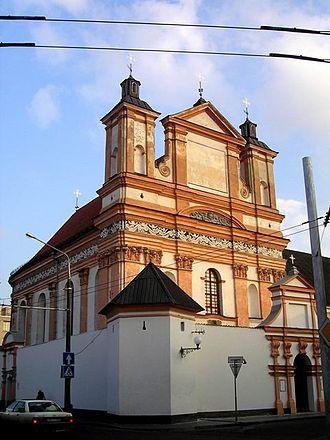 Bridgettines - Bridgettine monastery in Hrodna, Belarus