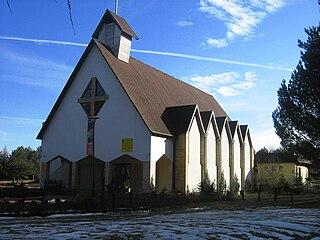 Wisełka Village in West Pomeranian Voivodeship, Poland