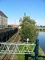 Kolejowa trakcja wzdłuż Odry - panoramio.jpg