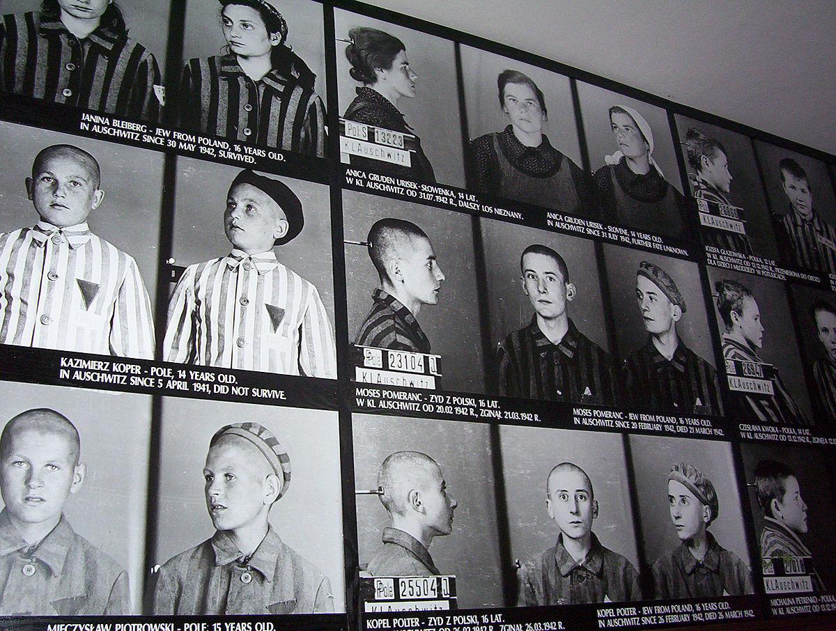 Liste Von Häftlingen Des Konzentrationslagers Auschwitz