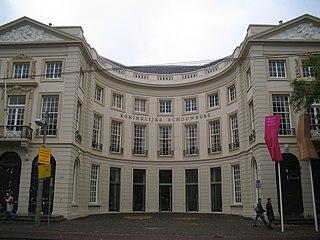 Koninklijke Schouwburg building in The Hague