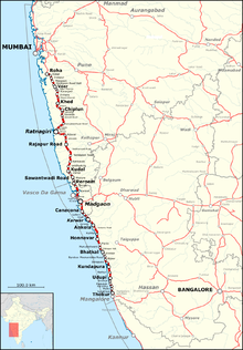 Map of west-central India