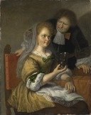 Konversationsstycke (Bartholomeus Maton) - Nationalmuseum - 117882.tif