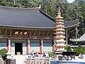 Korea-Gangwon-Woljeongsa Nine Story Pagoda 1743-07.JPG