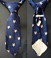 Krawatte, Werbegeschenk der Ofra Rauchwaren Gesellschaft.jpg