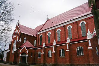 Kretinga - Church of the Annunciation to the Blessed Virgin Mary