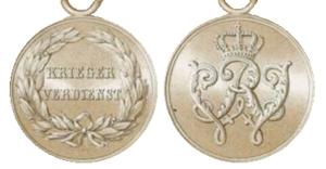 Warrior Merit Medal (Prussia) - Image: Krieger Verdienstmedaille