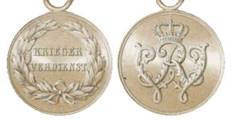 Warrior Merit Medal (Prussia) - Warrior Merit Medal, 1872 version