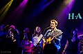Kris Allen, Cale Mills & Fans at The Hamilton DC-57 (8153360384).jpg