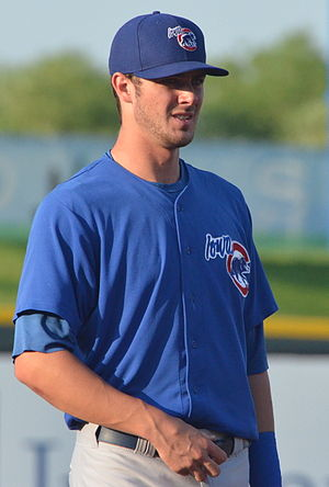 Kris Bryant - Bryant playing for the Iowa Cubs in July 2014