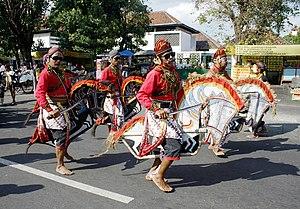 Kuda Lumping - Kuda Lumping dance during a festival in Yogyakarta