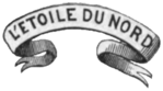 L'Étoile du Nord, Minnesota's official motto, as it appears on the state seal