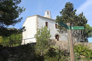 Albinyana - Image: L'ermita de Sant Antoni, Albinyana