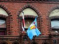 Lębork Town Hall after president's plane crash 2010 - 2.jpg