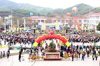 Ba Chẽ District District in Northeast, Vietnam