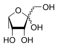 L-Fuculose furanose chemical structure.png