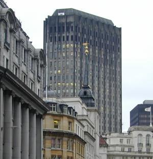 London Stock Exchange Group - Former LSE premises in Threadneedle Street, in use from 1972 to 2004