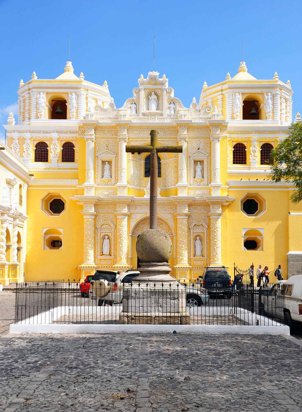 Iglesia De La Merced Antigua Guatemala Wikipedia La