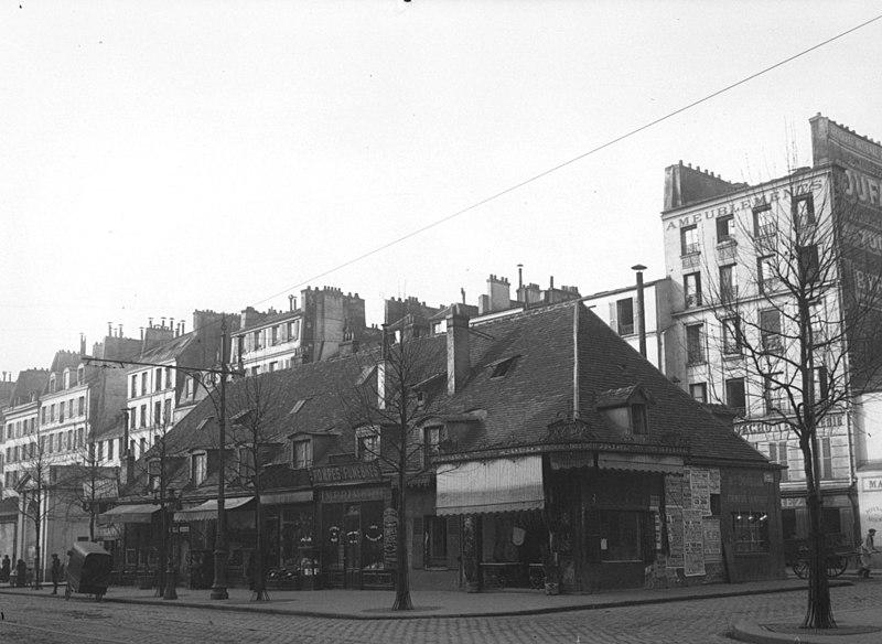 Fichier:La rue du Faubourg-Saint-Antoine (Paris) en 1913.jpeg