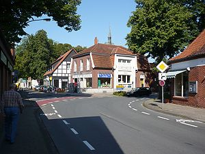 Ladbergen - Ladbergen Dorfstraße (Villagestreet)
